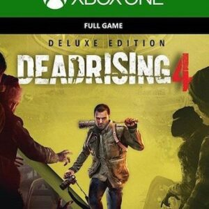 Dead Rising 4 Deluxe Edition + 4 игры Xbox One + Series